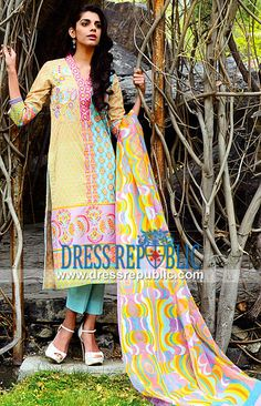 Shariq Textile Lawn Asian Suits 2014 for Eid Wardha Saleem Designer Lawn Asian Suits 2014 for Eid and Summer/Spring. Pint-sized Prices for Stores in United Kingdom on Buying Complete Sets. by www.dressrepublic.com
