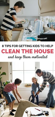 8 Tips For Getting Kids to Help Clean The House Parenting Toddlers, Good Parenting, Single Parenting, Parenting Hacks, Kids Church Lessons, Mopping Floors, Good Work Ethic, Helping Cleaning, Charts For Kids