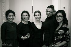 "Boska Show of British and Polish Fashion and Designer Wear London 2014, venue ""Ognisko""."