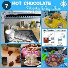 Hot chocolate themed play