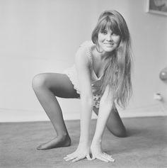 English actress Caroline Munro, 1st May 1969.