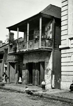 Old New Orleans 1800's