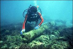 [Photo] The Urca de Lima Underwater Archeological Preserve today.