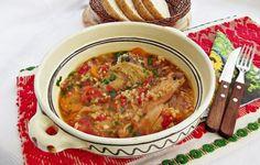 Tocanita de rosii cu ardei copti si carne de curcan Multicooker, Beef, Ethnic Recipes, Food, Meat, Essen, Meals, Yemek, Eten