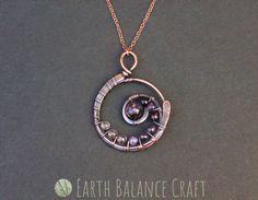 Sea lavender pendant