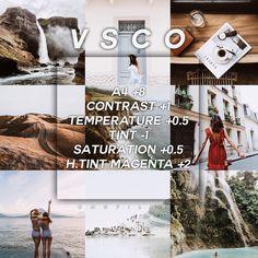 VSCO App: tutti i filtri più belli per le foto – Electronic is Charge Wallpaper Travel, Lightroom, Photoshop, Instagram Themes Vsco, Photography Filters, Photography Tricks, Digital Photography, Travel Photography, Photography Awards