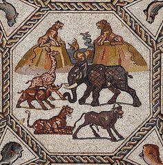 Римская мозаика из Лода
