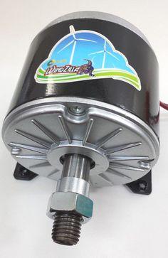 WindZilla DC Permanent Magnet Motor Generator for Wind Turbine PMA Solar Power Facts, Solar Energy System, Solar Energy Panels, Best Solar Panels, Alternative Energie, Motor Generator, Electrical Energy, Electrical Engineering, Solar Projects