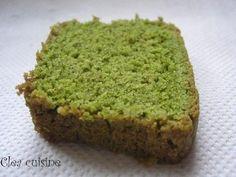 Cake au thé matcha de Cléa