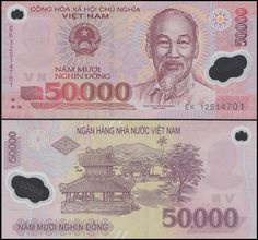 Add The 50 000 Vietnam Dong Banknote To Your Collection Today Vietnamese Or