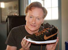 hot sale online 0fca6 7f874 Celebrity Feet  Conan O Brien - Nike SB Dunk High  Guinness  -  SneakerNews.com
