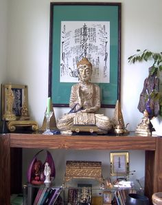 photos of buddhist alters | Don's Mahayana-Theravada Fusion represention of the Eternal Buddha
