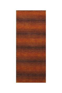 One-of-a-Kind Gabbeh Rugs  Luribaft Gabbeh Riz Runner - Orange - 2ft. 7in. x 6ft. 6in.  $199.00
