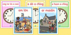 Gaeilge Time and Time related posters - gaeilge, time, related, posters, display A4, Family Guy, Posters, Display, Floor Space, Billboard, Poster, Postres, Movie Posters