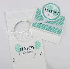 Happy Happy Birthday card ~ Video - Dawn's Stamping Thoughts Fancy Fold Cards, Folded Cards, Happy Birthday Cards, Birthday Wishes, Dawns Stamping Thoughts, 21 Cards, Interactive Cards, Birthday Weekend, Shaker Cards