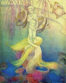 ~ The Little Mermaid ~ 1939 by Dorothy laptrop