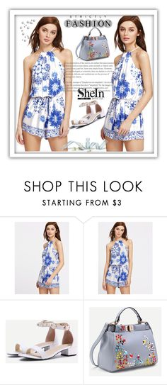 """Shein 5/10"" by melikasalkic ❤ liked on Polyvore"