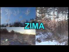 Toddler Activities, Multimedia, Montessori, Snow, Youtube, Winter, Nature, Outdoor, Geography