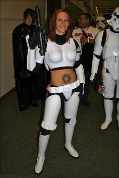 Sexy Storm Trooper Chick