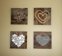 Pallet Heart Art viacRenew, Create, Restore