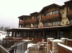 Wintertime at Hotel Park City