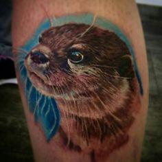 #Otter #tattoo