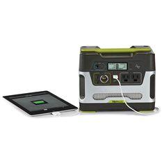The Portable Solar Powered Generator - Hammacher Schlemmer