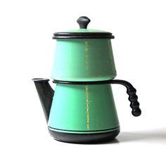 Enamel Drip Coffee Pot