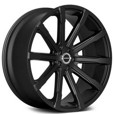 "26"" Strada Wheels Osso Gloss Black Rims"