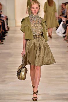 Ralph Lauren | Spring 2015 Ready-to-Wear | Sasha Luss