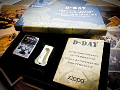 This year, Zippo pays homage to one of the boldest military operations in history with a limited edition gift set commemorating the 70th anniversary of the Normandy invasion. The D-Day 70th Anniversary collectible is limited to only 7,000 sets worldwide. The