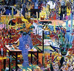 Luiz Zerbini Eu paisagem 1998 Acrílica sobre tela 295x280cm