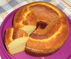 Bora começar com um bolo de fubá!!! - Aprenda a preparar essa maravilhosa receita de Bolo de fubá