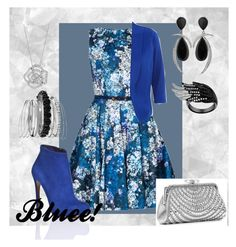 """Bluee!"" by hasiba678 ❤ liked on Polyvore featuring Nicholas Kirkwood, BERRICLE, Avenue and Lulu Townsend"