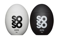 """SOSO - colors  """"Soso is a brand of high quality salts."""