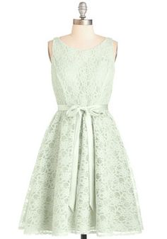 Simply Divine Dress in Sage