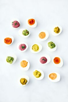 How to Make a Rainbow of Deviled Eggs