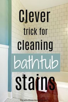 Sick tired of living in a messy house, but hate the thought of cleaning? Use these 17 hacks to discover ways to clean every room in your house FAST. Deep Cleaning Tips, House Cleaning Tips, Car Cleaning, Spring Cleaning, Cleaning Recipes, Cleaning Solutions, Clean Bathtub, Clean Kitchen Cabinets, Messy House