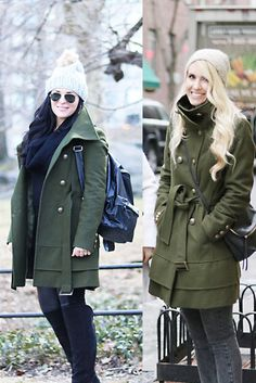 This Way That Way: Olive Green Winter Coat   How We Styled it- Darling Darleen   A Lifestyle Design Blog