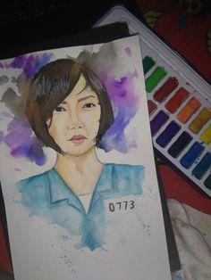 #Sense8 #sun #watercolor #sketch