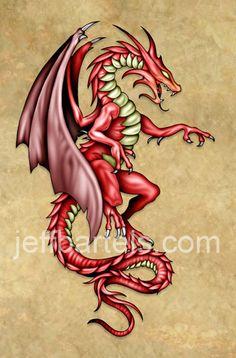 red dragon tattoo - Google Search