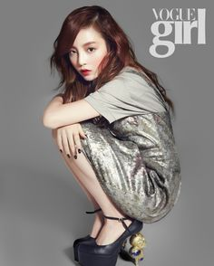Goo Hara for Vogue Girl Korea March 2013