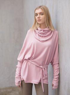 Женский розовый свитшот / платье туника / для дома / в подарок – купить или заказать в интернет-магазине на Ярмарке Мастеров | Очень нежный и приятный к телу розовый свитшот.