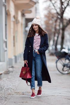 Etre Cecile Sweatshirt & Gucci Marmont Bag - Simple et Chic - Fashion & Lifestyle Blog