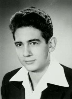 A very young PLACIDO DOMINGO