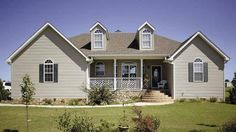 Home Plan HOMEPW03288 - 1860 Square Foot, 3 Bedroom 2 Bathroom Country Home with 2 Garage Bays | Homeplans.com