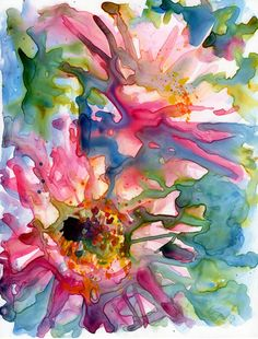 Watercolor by Yevgenia Watts