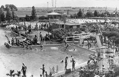 Zwembad Papiermolenbad 1960 - Foto's SERC