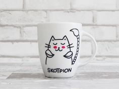 Skotpion 300ml :) - Salomeah - Kubki i filiżanki