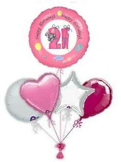 Me To You 21 Balloon King 21st Birthday Balloons